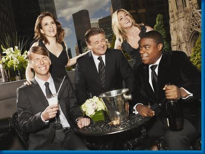 30 Rock Photo Sign 8in x 12in