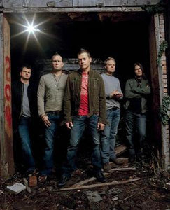 3 Doors Down Group poster tin sign Wall Art