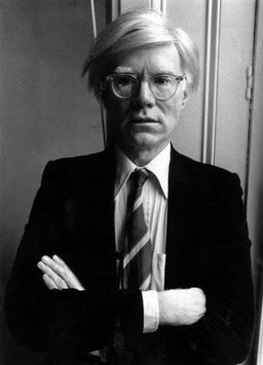 Andy Warhol Art Poster Bw 16in x24 in