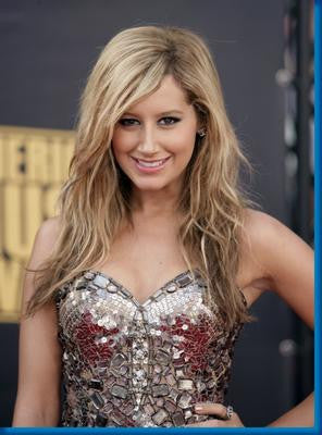 Ashley Tisdale Silver Glam poster| theposterdepot.com