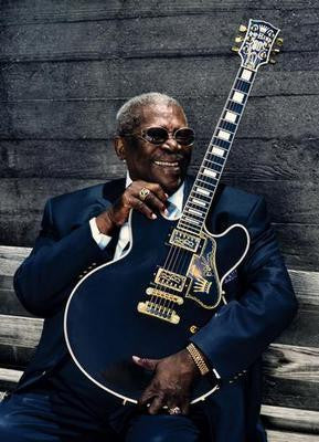 Bb King poster| theposterdepot.com
