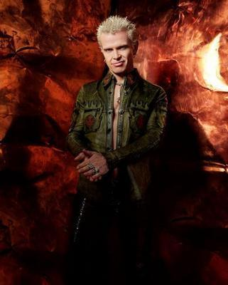 Billy Idol Great Color Pose poster tin sign Wall Art