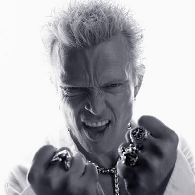 Billy Idol Bw 11x17 Mini Poster