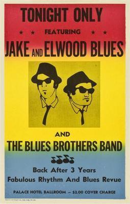 Blues Brothers The  poster 27x40