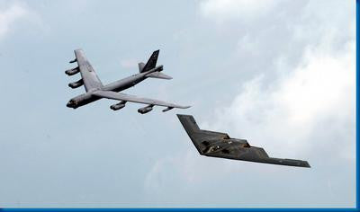 Bombers Stealth Bomber B52 Military Aircraft 11x17 Mini Poster