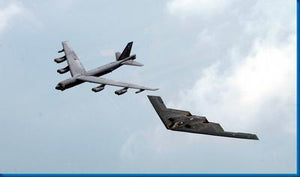 Bombers Stealth Bomber B52 Military Aircraft poster tin sign Wall Art