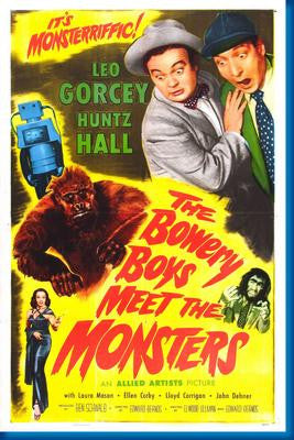 Bowery Boys Meet The Monsters, The  poster| theposterdepot.com