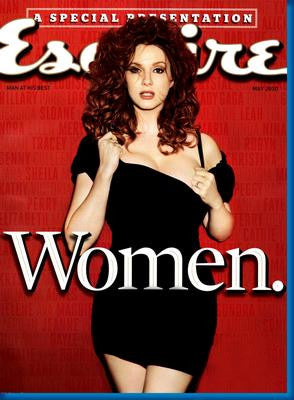 Christina Hendricks Esquire Magazine Cover 11x17 Mini Poster