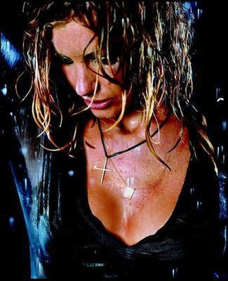 Faith Hill Wet poster tin sign Wall Art