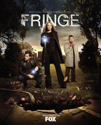 Fringe Season 2 poster tin sign Wall Art