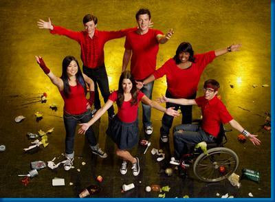 Glee Arms Up poster tin sign Wall Art