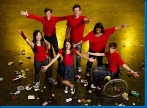 Glee Arms Up 11x17 Mini Poster