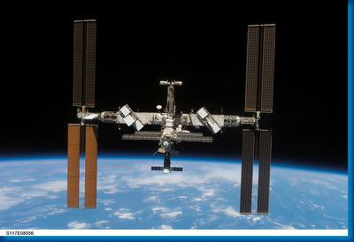 International Space Station Aviation 11x17 Mini Poster