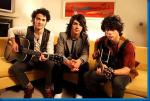 Jonas Brothers Couch poster| theposterdepot.com
