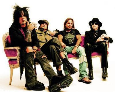Motley Crue Recent Photo poster tin sign Wall Art