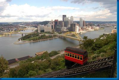 Pittsburgh Skyline Poster 16