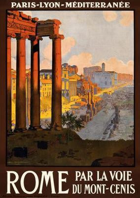 Rome Travel Poster 16
