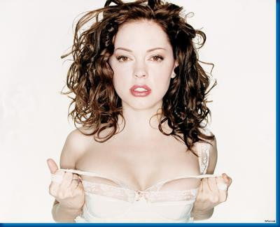 Rose Mcgowan In White poster| theposterdepot.com
