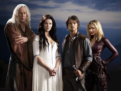 Legend Of The Seeker Cast Hz poster 27x40| theposterdepot.com