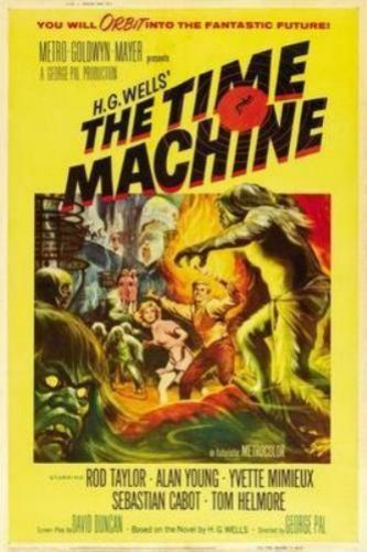 Time Machine The Movie Poster 11inch x 17 inch