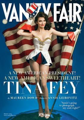 Tina Fey Vanity Fair Cover poster tin sign Wall Art