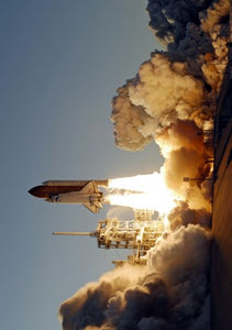 Space Shuttle Launch Poster 24inx36in
