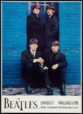 Beatles The Mini Poster #01 Palladium 11inx17in Mini Poster