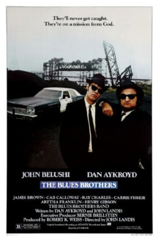 Blues Brothers poster 24inx36in
