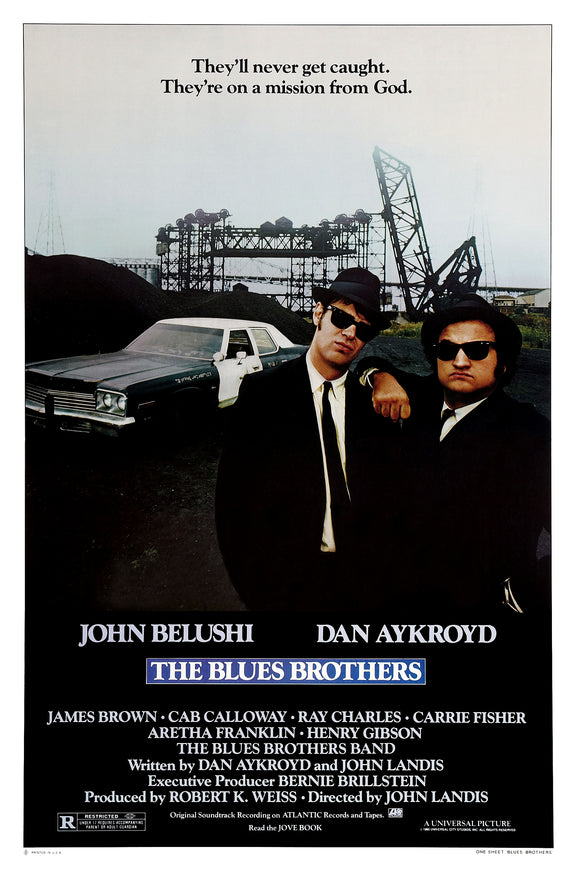 Blues Brothers The Movie 27x40