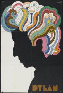 Bob Dylan Poster Psychedelic
