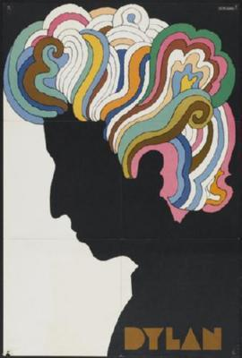 Bob Dylan poster 27x40 Psychedelic