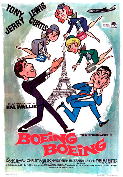 Movie Posters, boeing boeing movie