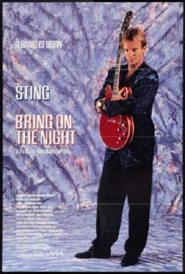 Bring On The Night Poster Sting 24inx36in - Fame Collectibles