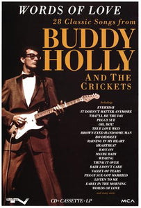 Buddy Holly poster| theposterdepot.com