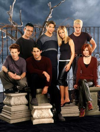 Buffy The Vampire Slayer Cast poster 27x40| theposterdepot.com