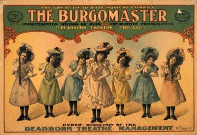 Burgomaster poster tin sign Wall Art
