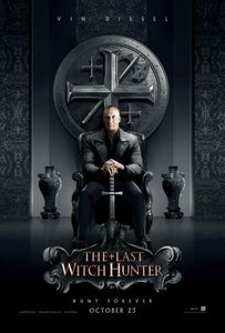 Last Witch Hunter poster 24in x36in