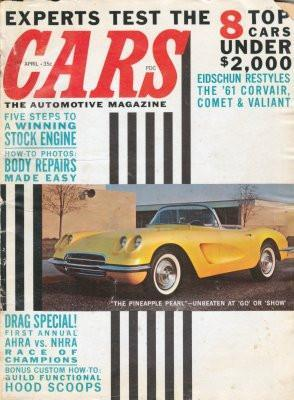 Cars Magazine poster tin sign Wall Art