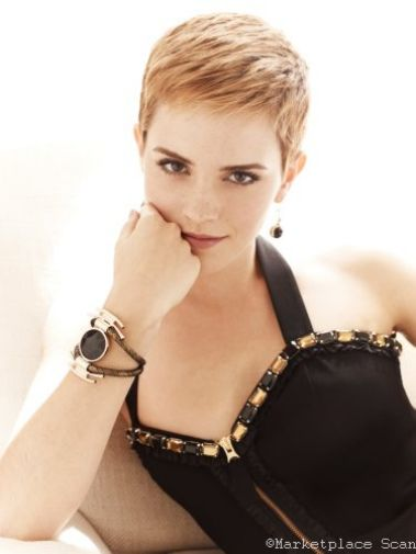 Emma Watson Poster 24x36 cropped hair