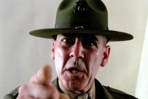 R Lee Ermey Poster 24x36 Full Metal Jacket