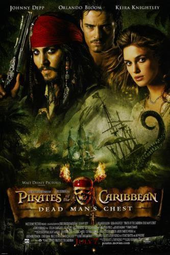 Pirates Of The Caribbean Dead Man's Chest Poster 16x24