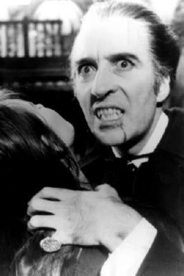 Christopher Lee Dracula poster| theposterdepot.com