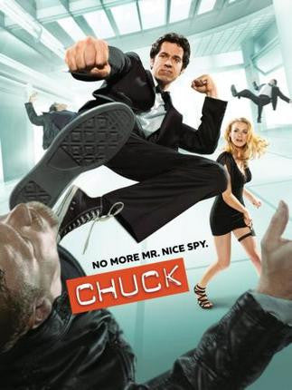 Chuck Poster Mr Nice Spy 11x17 Mini Poster