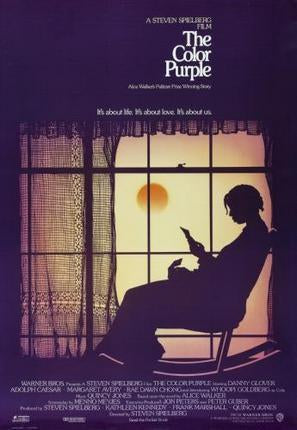 The Color Purple poster tin sign Wall Art