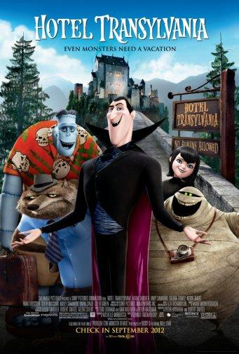 Hotel Transylvania poster 24inx36in Poster