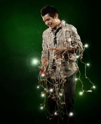 David Archuleta Poster Lights 24inx36in - Fame Collectibles