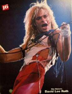 David Lee Roth poster| theposterdepot.com