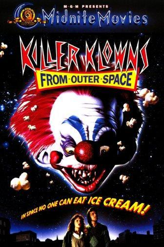 Killer Klowns From Outer Space poster 16x24