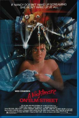 Nightmare On Elm Street movie poster Sign 8in x 12in