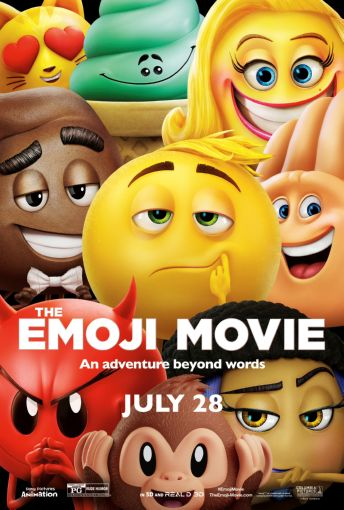 The Emoji Movie poster| theposterdepot.com
